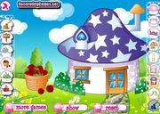 Smurf house decoration j�t�k