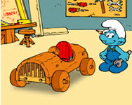 The Smurfs Handy's Car j�t�k